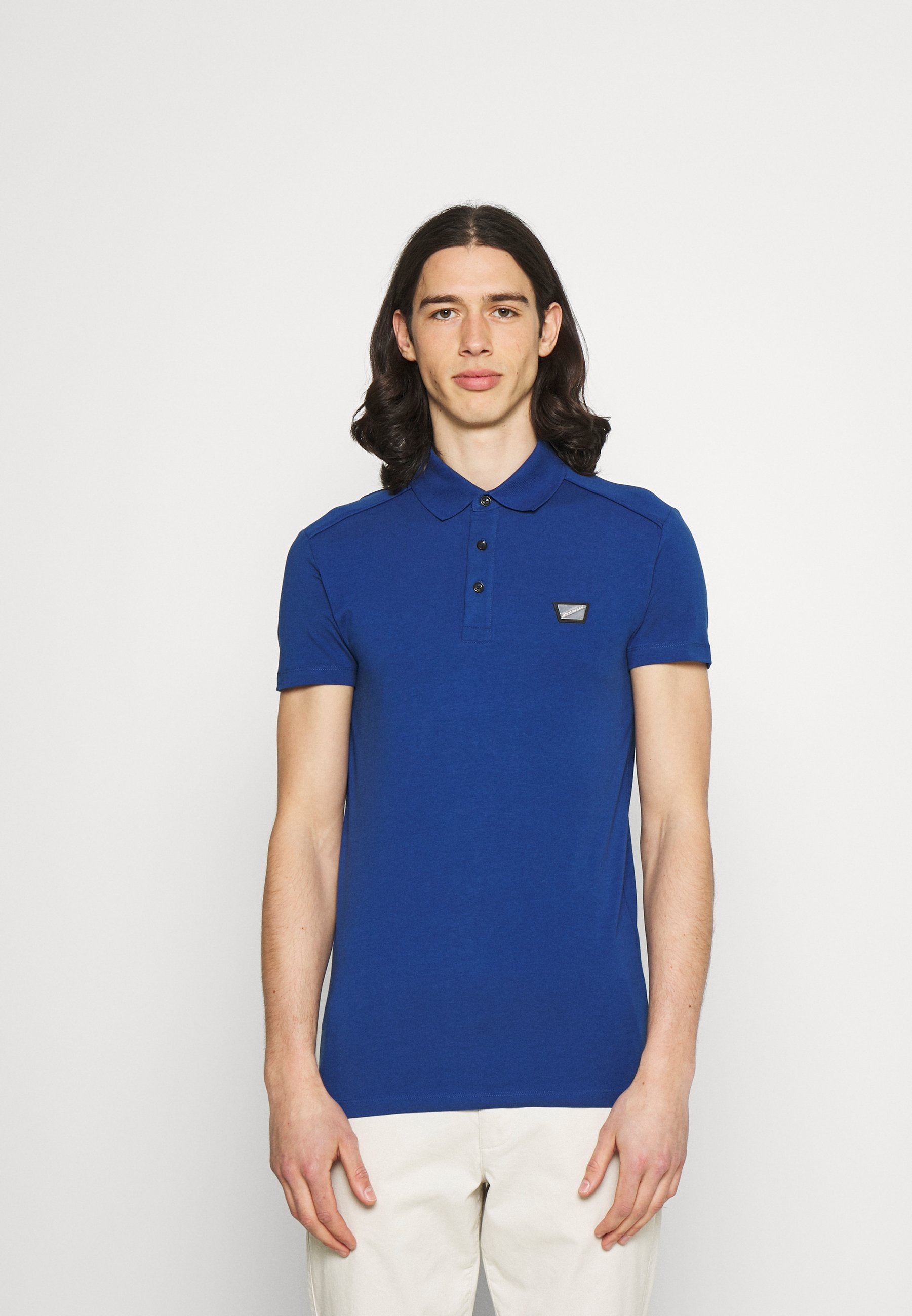 Men PLATE ON FRONT - Polo shirt