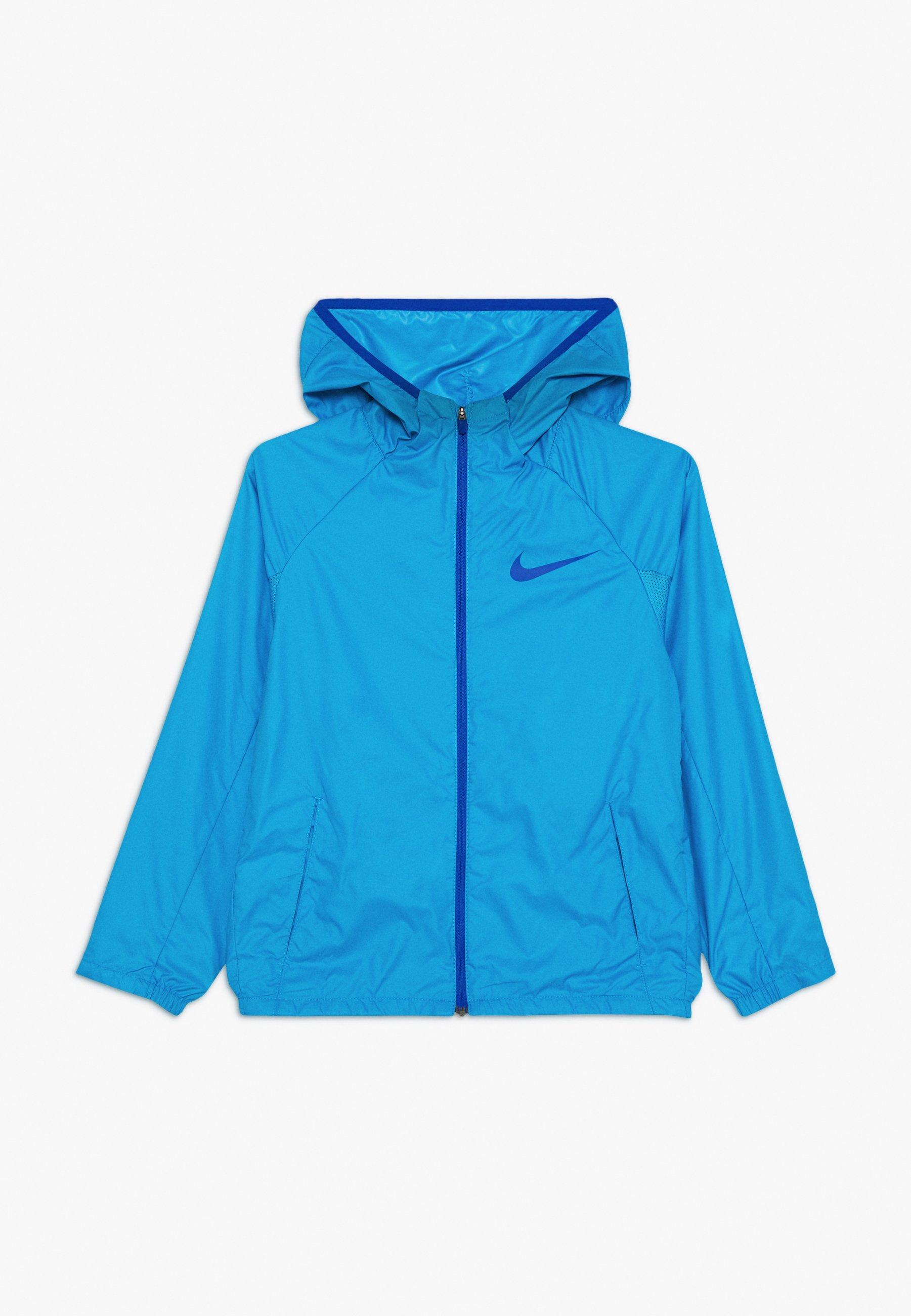 Nike Performance SPORT JACKET - Wiatrówka - laser blue/game royal - Ubranka dla dzieci
