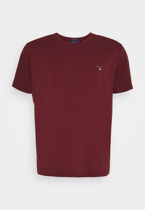 THE ORIGINAL - Basic T-shirt - port red