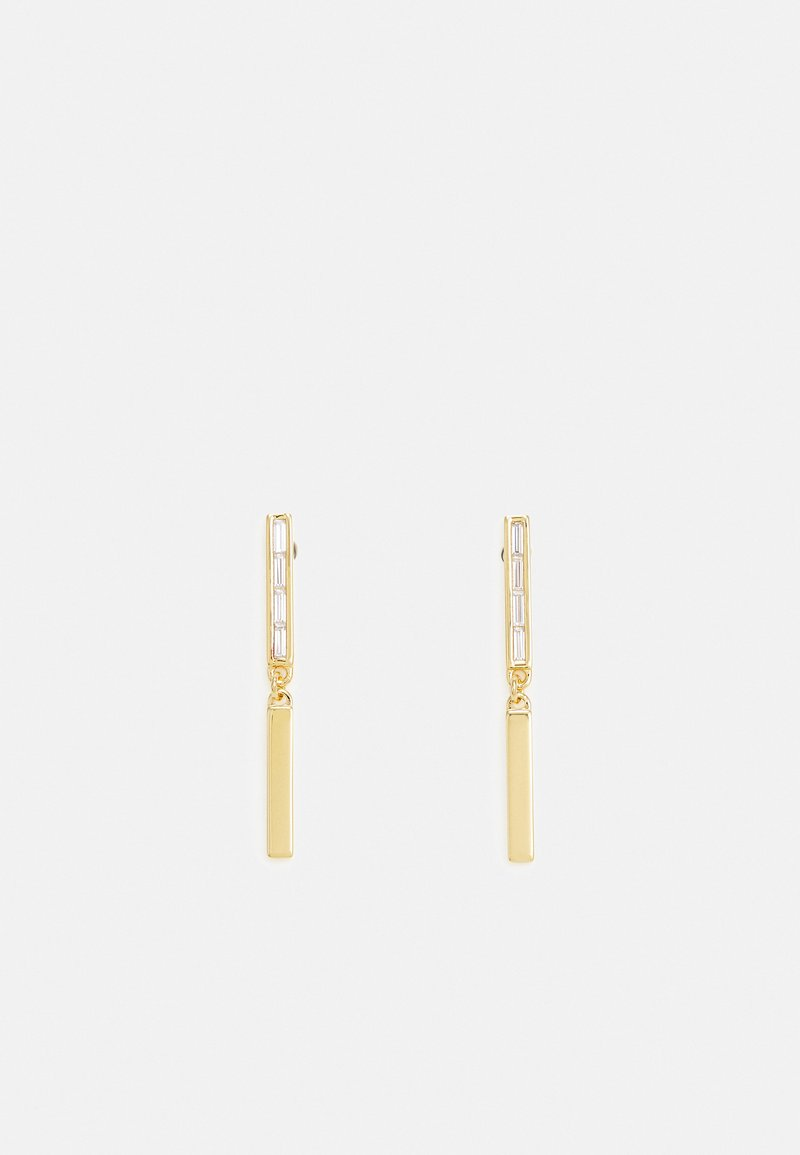 Emporio Armani - BAGUETTE - Earrings - gold-coloured