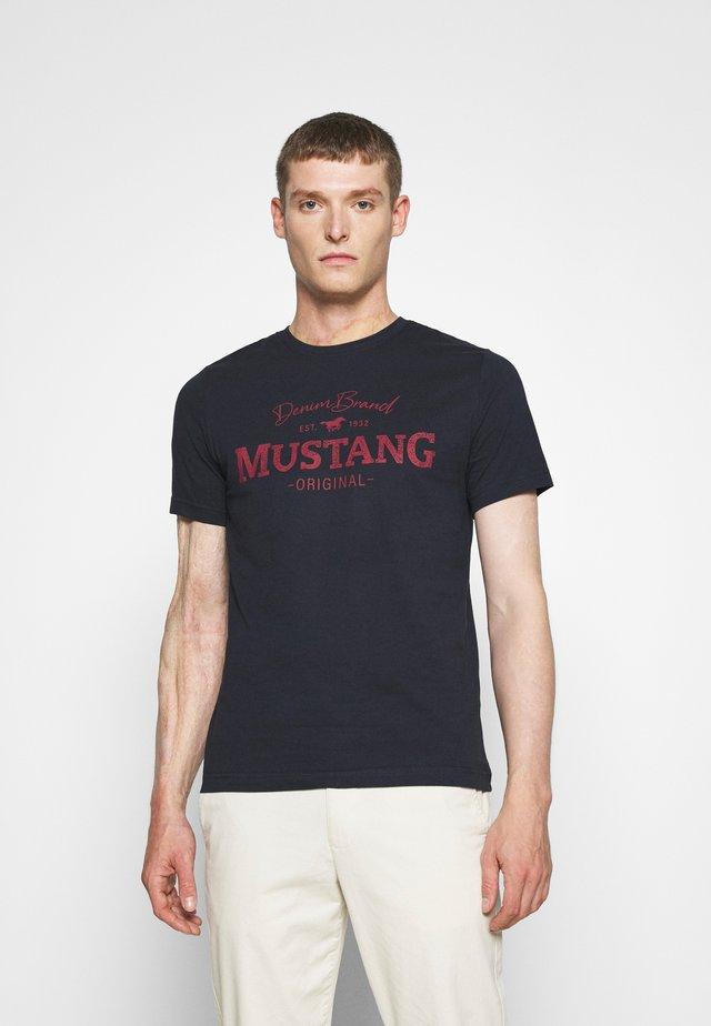 ALEX LOGO - T-shirts print - blau