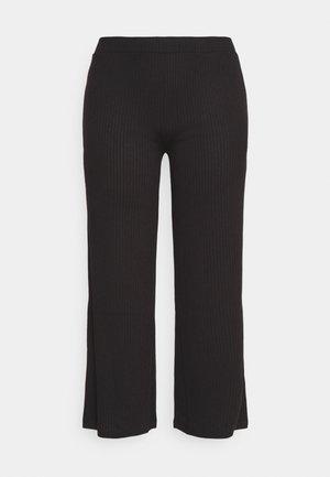 PCSIMINIA PANTS CURVE - Trousers - black