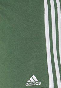 adidas Performance - Pantaloncini sportivi - greoxi/white - 5