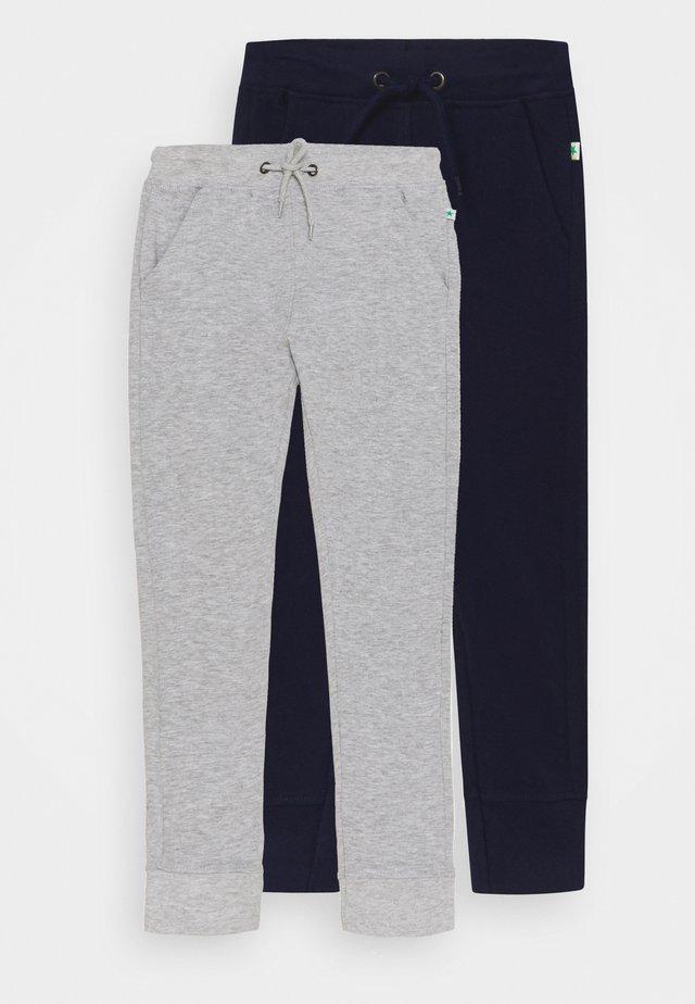 SMALL BOYS TROUSERS 2 PACK - Pantaloni sportivi - nachtblau/nebel