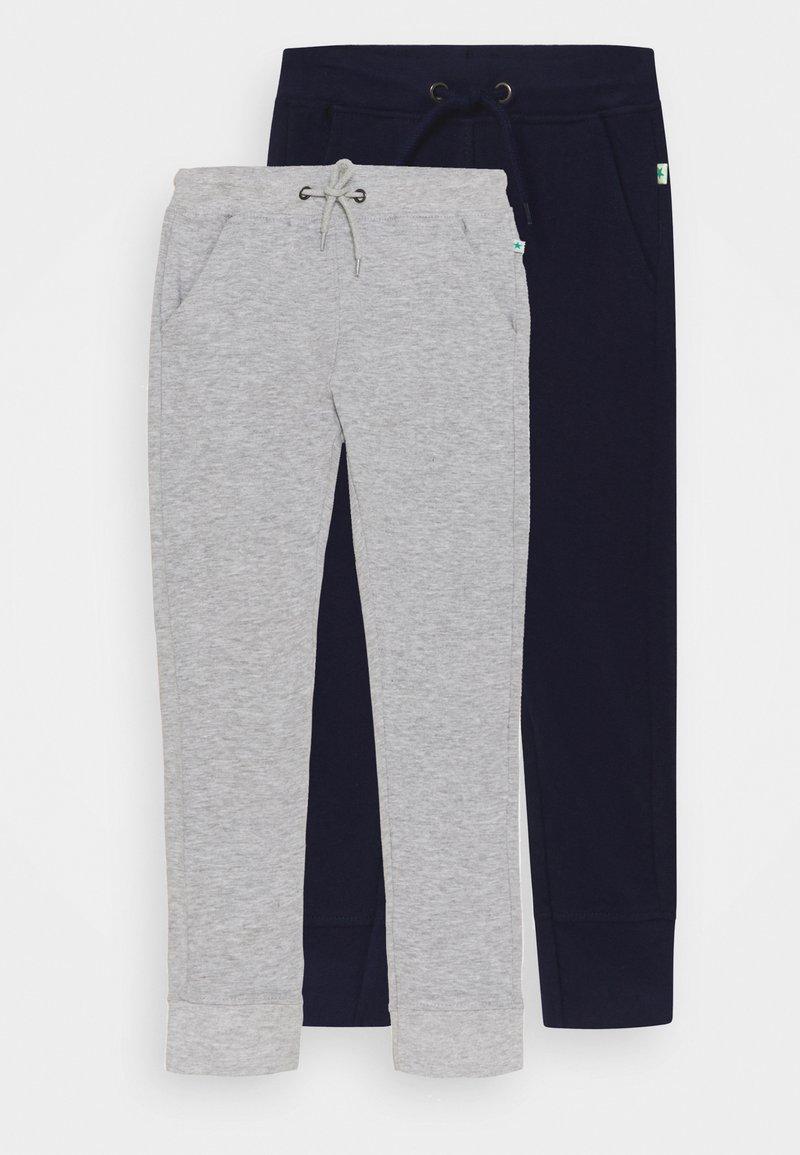 Blue Seven - SMALL BOYS TROUSERS 2 PACK - Pantalon de survêtement - nachtblau/nebel