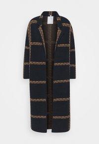 Thought - CHATTERTON CARDIGAN COAT - Classic coat - midnight navy - 0