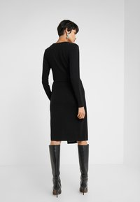 Bruuns Bazaar - METALLIC RIBA DRESS - Day dress - black/silver - 2