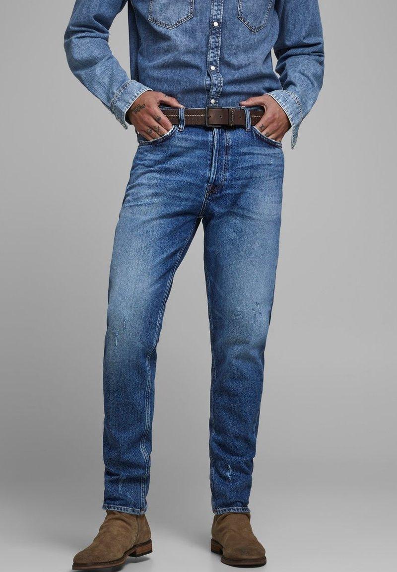 Jack & Jones - FRED ORIGINAL  - Straight leg jeans - blue denim