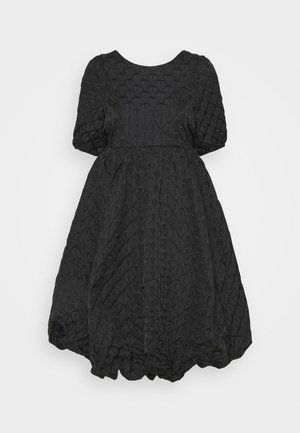 YASKYL MIDI DRESS SHOW - Vestido de cóctel - black