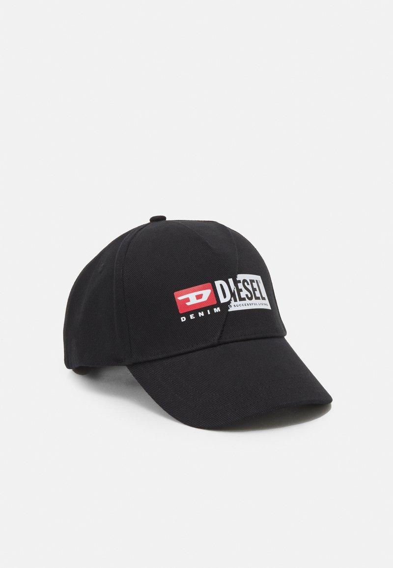 Diesel - CAP-CUTY UNISEX - Casquette - black