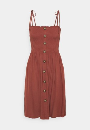 ONLANNIKA SMOCK DRESS - Day dress - apple butter
