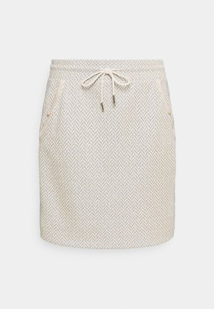 SKIRT - Mini skirt - pearl white