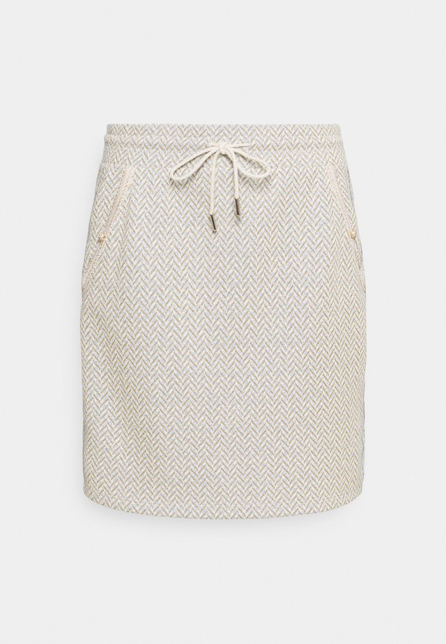 SKIRT - Minirok - pearl white