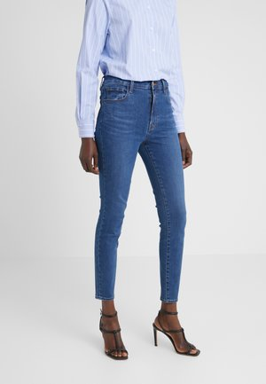 LEENAH HIGH RISE ANKLE - Jeans Skinny Fit - cyber