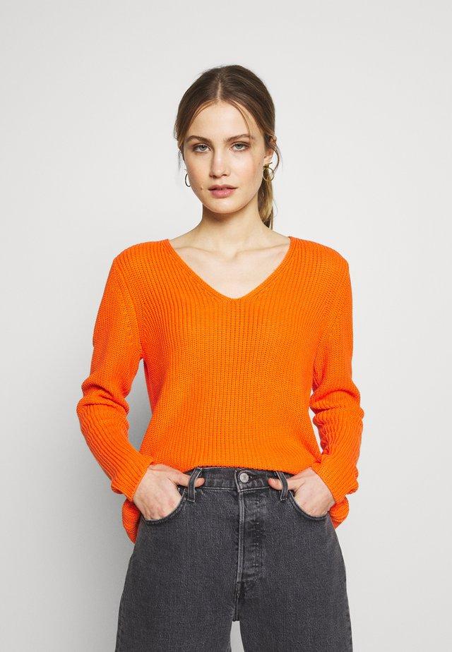Neule - orange