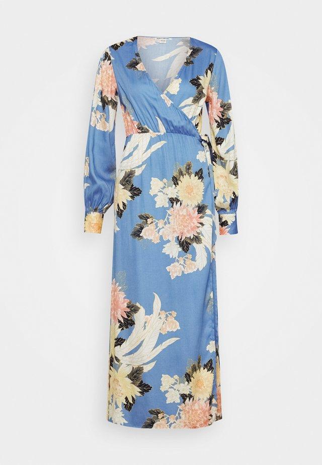 GOOD SIDE - Maxi dress - surf blue