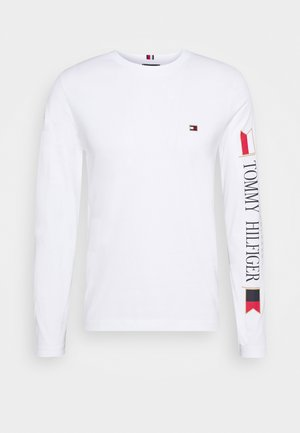 MIRRORED FLAGS LONG SLEEVE  - Maglietta a manica lunga - white