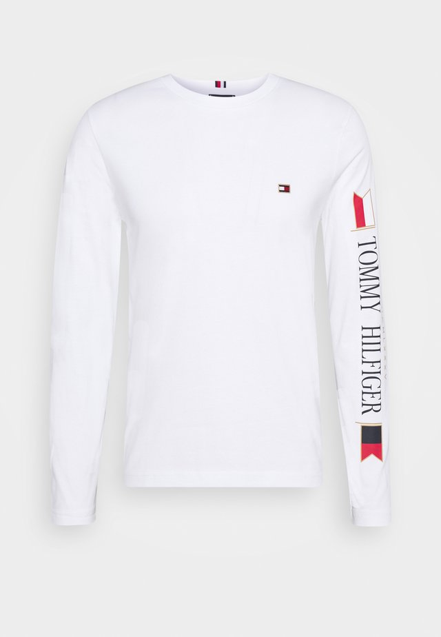 MIRRORED FLAGS LONG SLEEVE  - Camiseta de manga larga - white