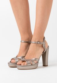 Anna Field - High heeled sandals - gunmetal - 0