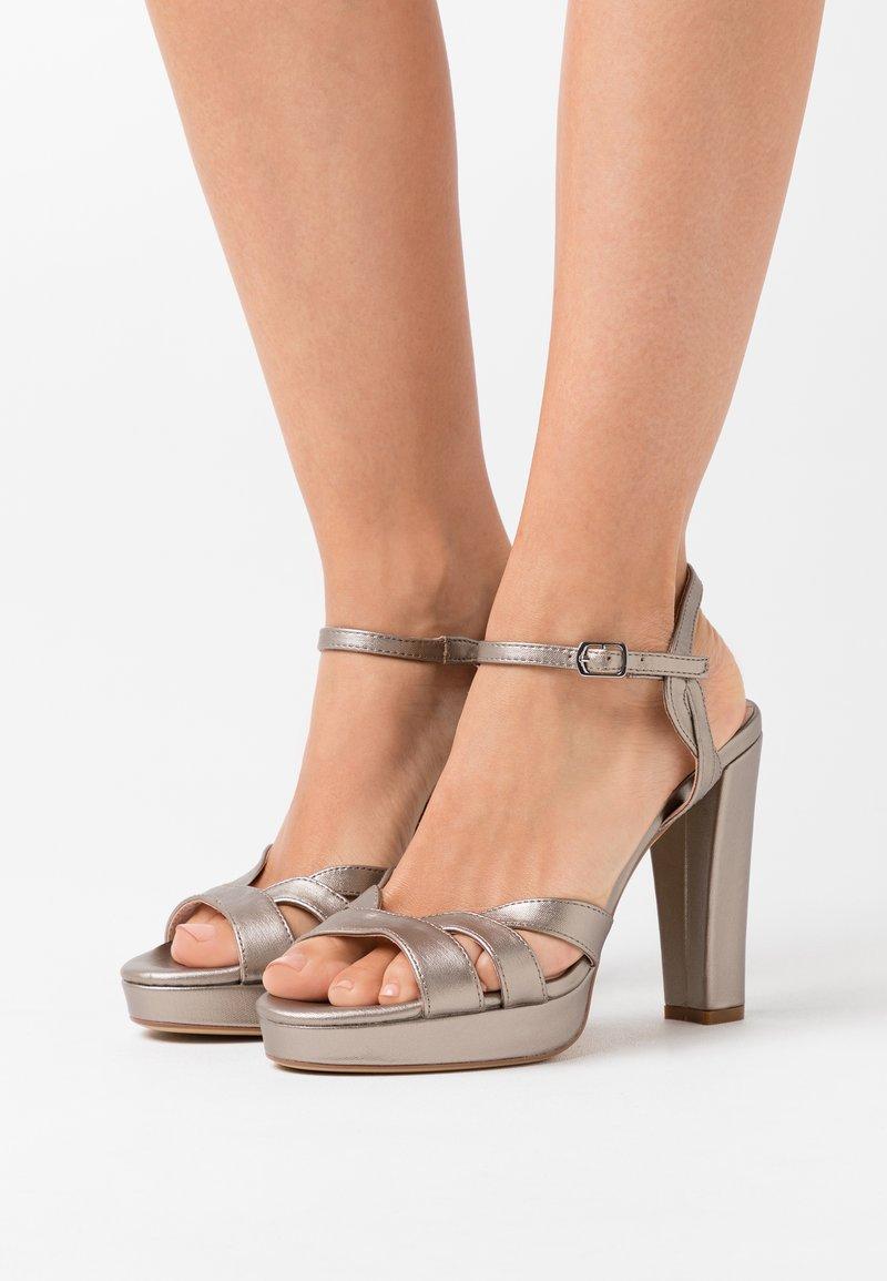 Anna Field - High heeled sandals - gunmetal