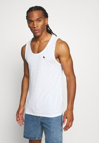 Abercrombie & Fitch - EX TANK 3 PACK - Top - white - 1