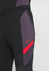 Nike Performance - DRY ACADEMY SUIT - Tracksuit - black/siren red - 7