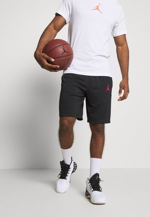JUMPMAN SHORT - Pantalón corto de deporte - black/black/white/gym red