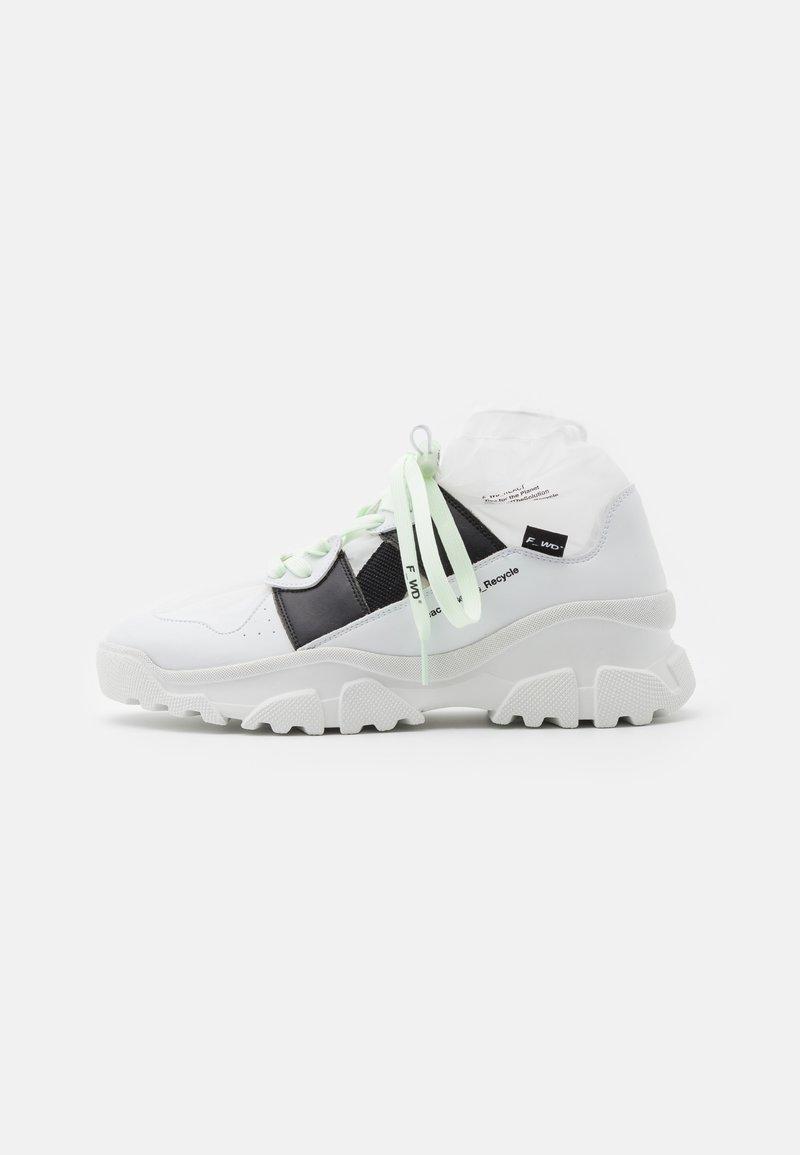 F_WD - Sneakers hoog - white