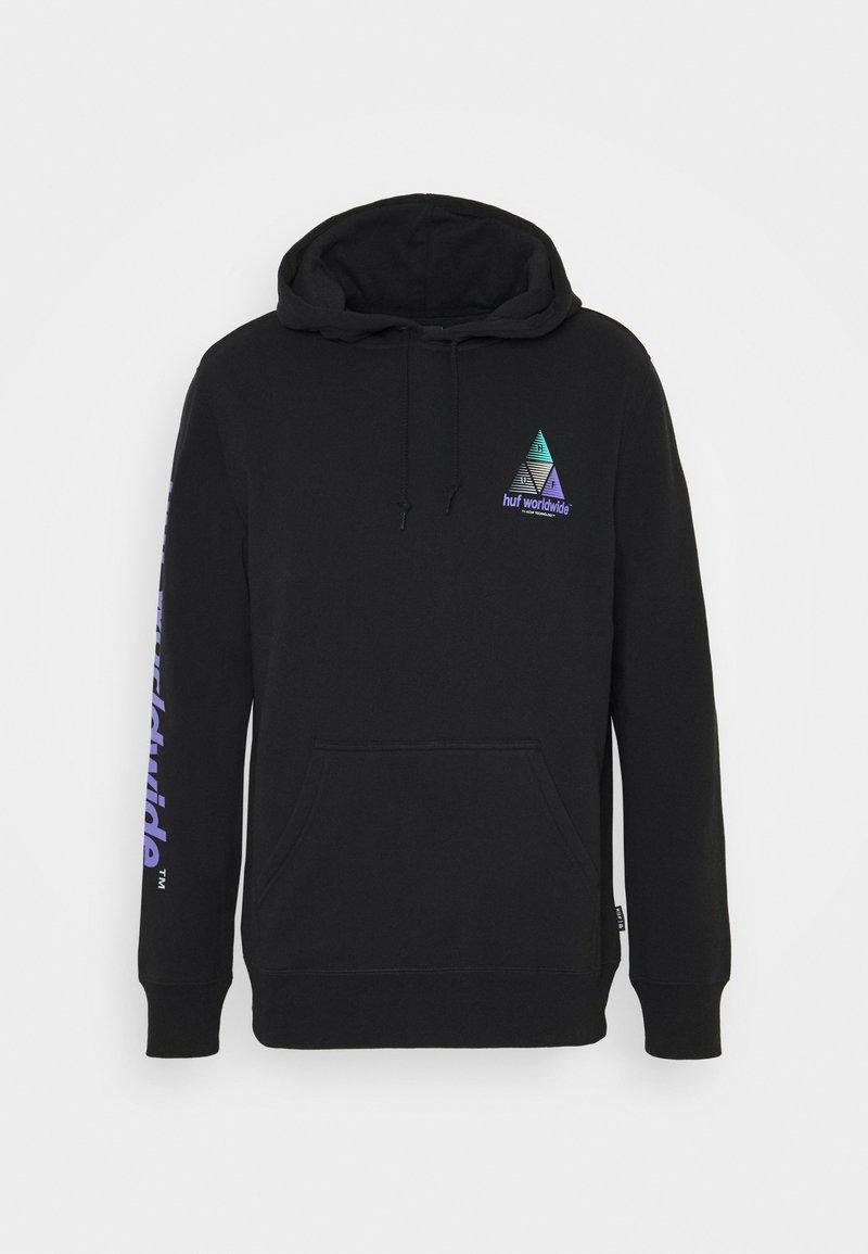 HUF - PRISM HOODIE - Sweatshirt - black