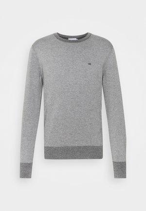 C NECK SWEATER - Jumper - mid grey heather