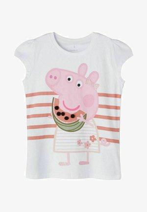 PEPPA PIG - Print T-shirt - bright white