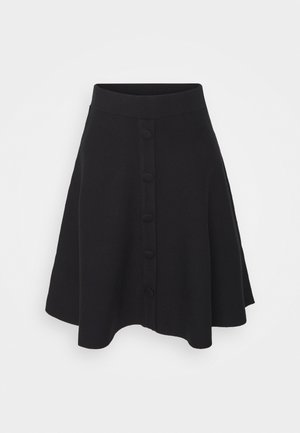FONNY - A-line skirt - black