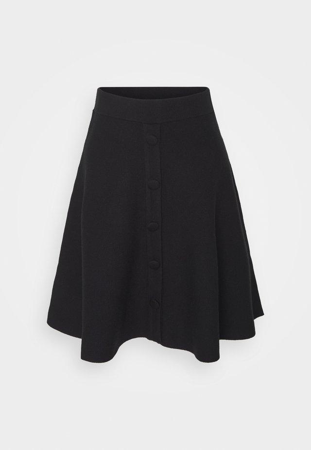 FONNY - A-line skirt - black