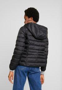 Vero Moda - SHORT HOODY - Winter jacket - black - 2