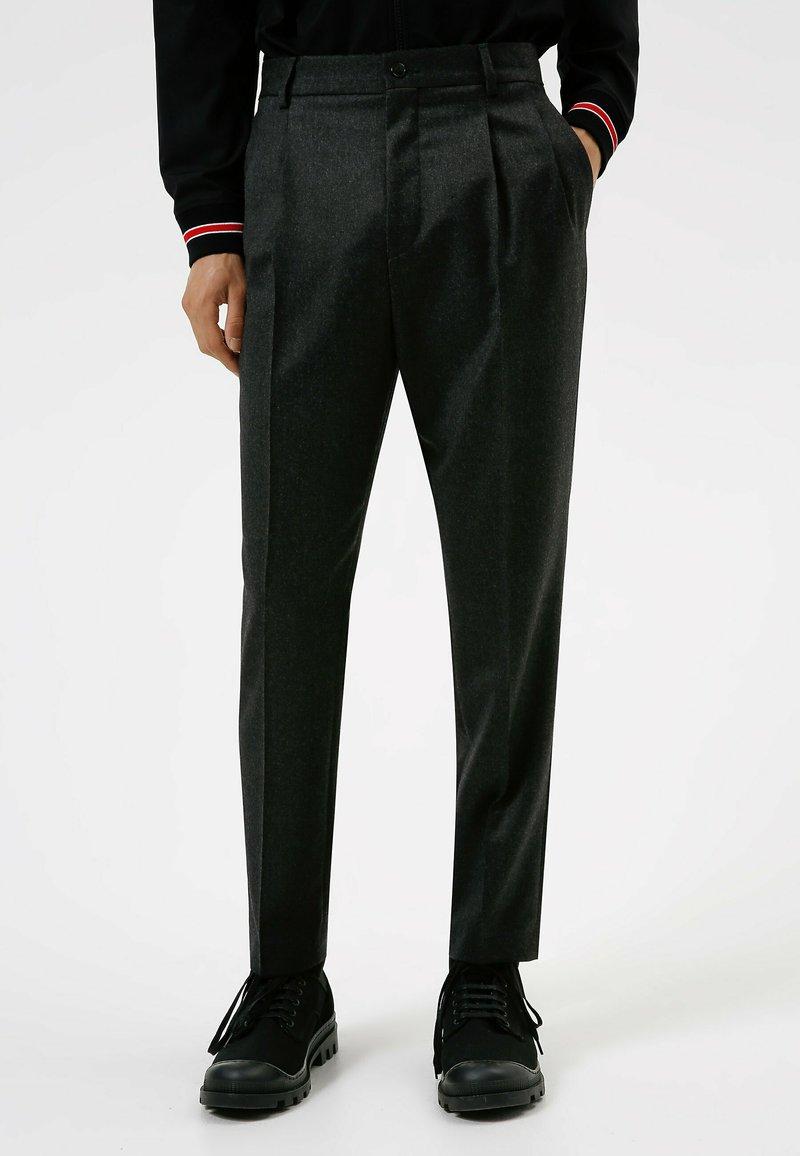 HUGO - Trousers - dark grey