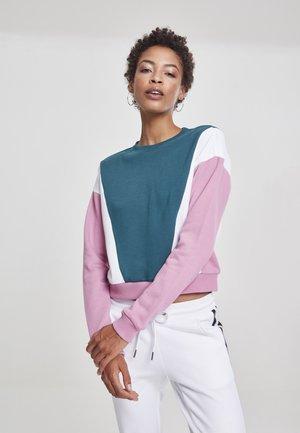 Sweatshirt - jasper/coolpink/wht