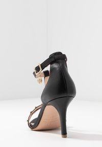 Trussardi - Korolliset sandaalit - black - 5