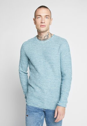 ONSWICTOR STRUCTURE CREW NECK - Stickad tröja - dark blue