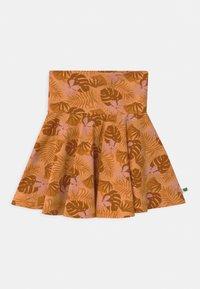 Fred's World by GREEN COTTON - SAFARI CAMO - Áčková sukně - mango - 2