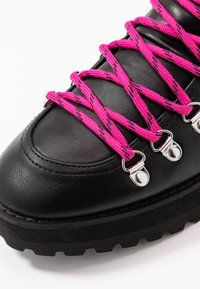 Faith - BUCK - Lace-up ankle boots - black - 2