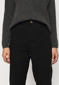 Missguided Petite - RIOT MOM - Jeans a sigaretta - black - 5
