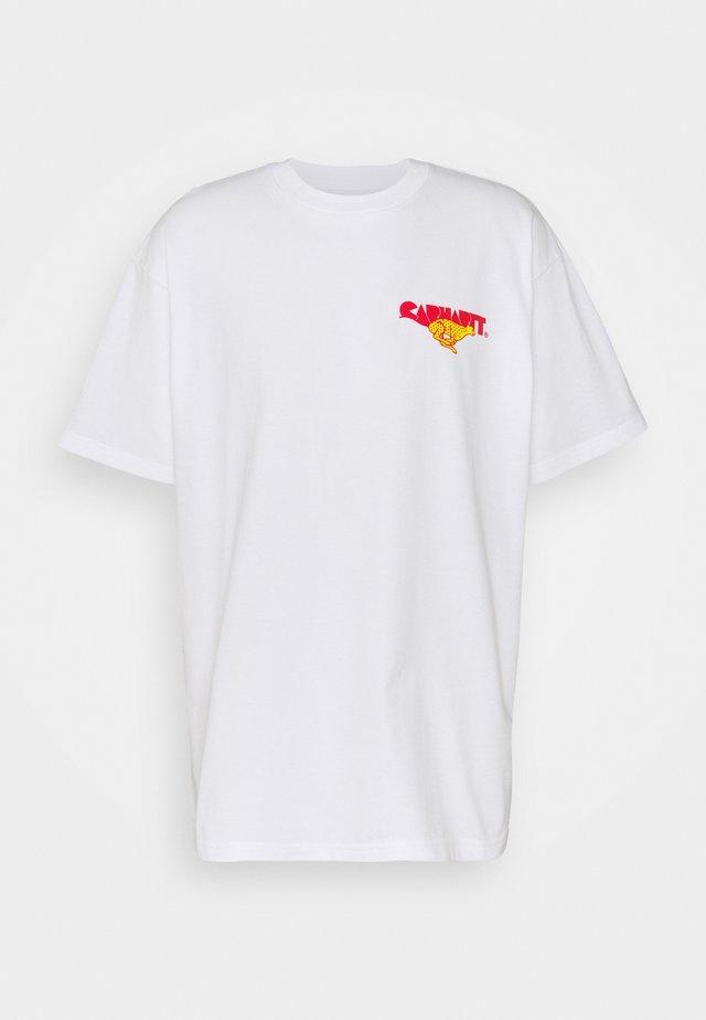RUNNER - T-shirt imprimé - white