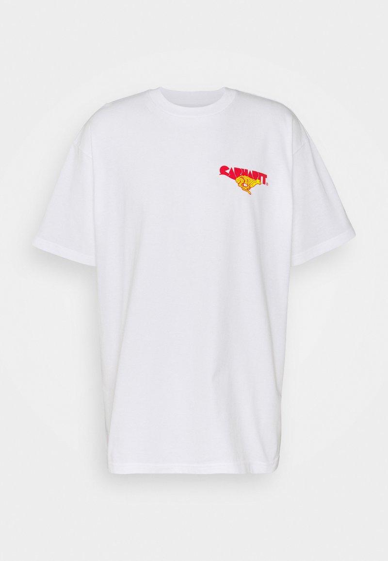 Carhartt WIP - RUNNER - Printtipaita - white