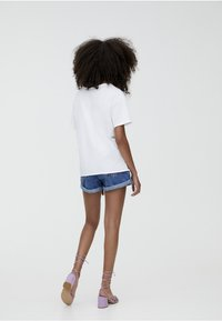 PULL&BEAR - T-shirt basic - white - 2