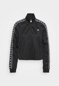 Kappa - HASINA - Training jacket - caviar - 4