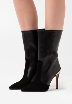SILLA  - High heeled boots - nero