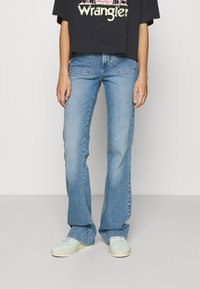 Wrangler - Flared jeans - dusty mid - 0