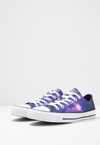 Converse - CHUCK TAYLOR ALL STAR MISS GALAXY - Trainers - black/court purple/white - 4