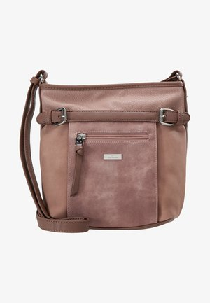 JUNA CROSS BAG - Skuldertasker - rose