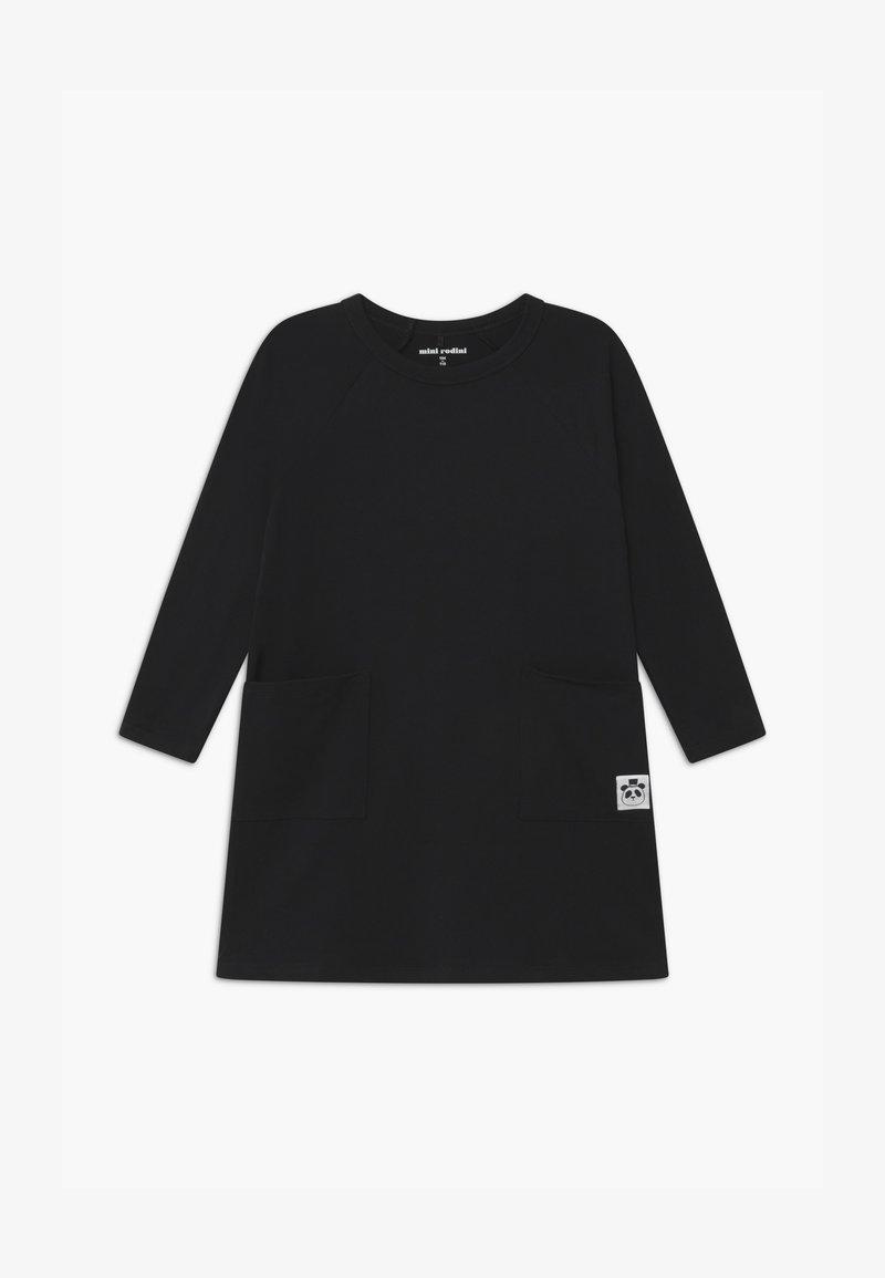 Mini Rodini - BABY BASIC DRESS - Jerseykleid - black